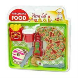 Tableware Food Büyük Pizza ve Tatlı Çeşitleri Seti