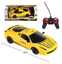 Uzaktan Kumandalı Şarjlı Spor Araba Taksi Toy-20