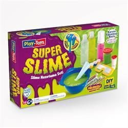 Play-Toys Süper Slime Hazırlama Seti DIY