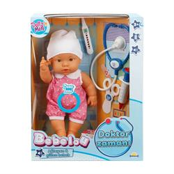 Bebelou Doktor Zamanı Sesli Bebek