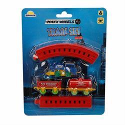 Kurmalı Raylı Mini Tren Seti 11 Parça