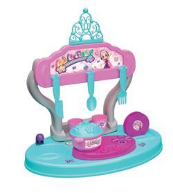 Prenses&Unicorn Masaüstü Mutfak Seti 15 Parça 40 cm