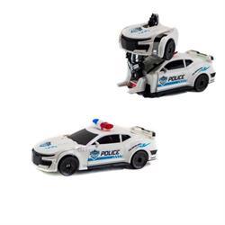FW-2038 POLİCE ARABASI ROBOTA DÖNŞ PİLLİ -SAG