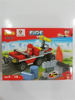 3018 107PCS LEGO İTFAİYE -SAG