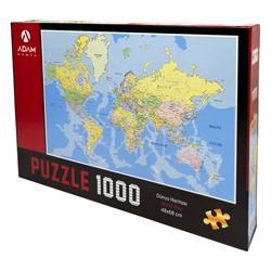 1000 Parça Dünya Haritası Puzzle