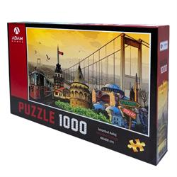 1000 Parça İstanbul Kolaj Puzzle