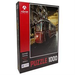 1000 Parça Nostaljik Tramvay Puzzle