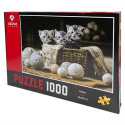 1000 Parça Kediler Puzzle