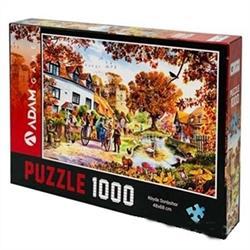 1000 Parça Köyde Sonbahar Puzzle
