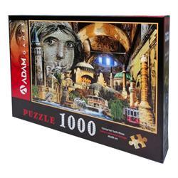 1000 Parça Türkiye nin Tarihi Mirası Puzzle