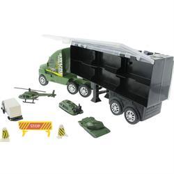 Taşınabilir Metal Araçlı Askeri Kamyon
