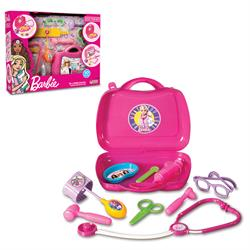 Lisanslı Barbie Kutulu Doktor Seti 10 Parça