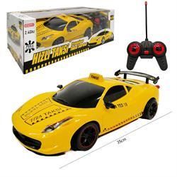 Uzaktan Kumandalı Şarjlı Süper Car Taksi Araba toy-25