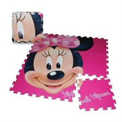 Disney Minnie Eva Yer Matı Orjinal Lisanslı Ürün