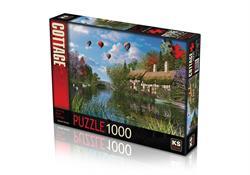 11272 PUZZLE 1000P Old River Cottage -KS