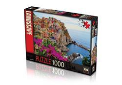 11309 PUZZLE 1000 VILLAGE OF MANAROLA -KS