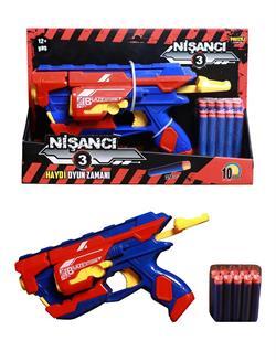 Soft Mermi Atan Nişancı Oyuncak Silah Yerli Ürün