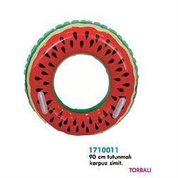 1710011 SİMİT 90 CM KARPUZ DESENLİ TUTUNMALI -KZL