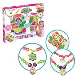 Renkli Boncuklar Takı Tasarım Seti Oyuncak
