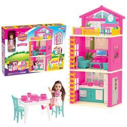 Lola'nın 3 Katlı Evi Aksuarlı Oyun Evi