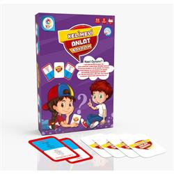 Anlat Bakalım Eğitici Eğlenceli Oyun Kartları 64 Parça