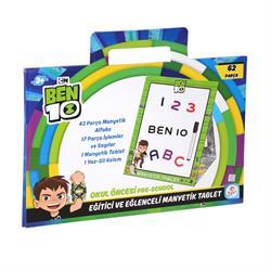 Ben10 Eğitici Manyetik Yazı Tahtası Oyun Seti