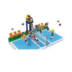 Ausini Lego  210 Parça Sport Set Voleybol Oyun Seti