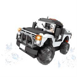 Ausını 210 Parça Jeep Araç Yapım Seti Lego Oyun Seti
