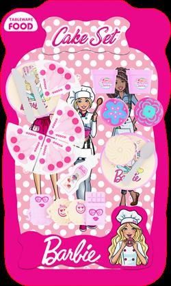 Barbie Lisanslı Pasta ve Tatlı Çeşitleri (Büyük Boy)