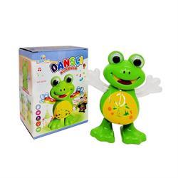 Pilli Işıklı Müzikli Danscı Kurbağa Oyuncak