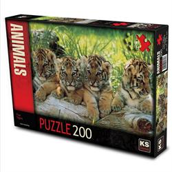 11325 Four Tigers/Mark Goulding 200 PARÇA -KS