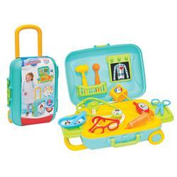 Candy & Ken Doktor Set Bavulum Oyuncak Doktor Oyun Seti