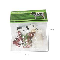 Poşette Çiftlik Hayvanları 4 Lü Paket