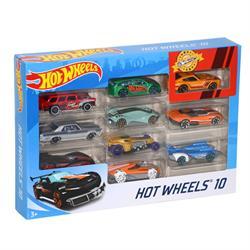 Hot Wheels 10'lu Araba - Karışık