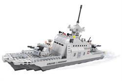 Ausini 402 Parça Cruıse Askeri Gemi Lego