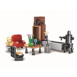 Ausini 170 Parça Benim Oturma Odam Lego Seti
