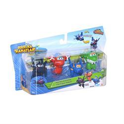 Harika Kanatlar 4'lü Mini Figür Seti (Ajan Chase, Jerome, Flip, Mira)