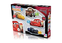 CR 10304 CARS MY FİRST PUZZLES 4 İN 1 -KS