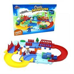 Kutulu Eğlenceli Oyuncak Tren Seti