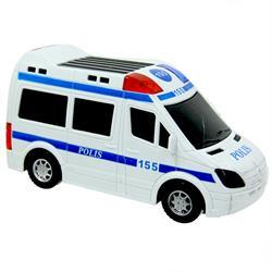 Çarp Dön Pili Işıklı Polis Arabası Oyuncak