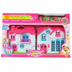 Oyuncak Sesli ve ışıklı Sevimli Aksesuarlı Ev Seti