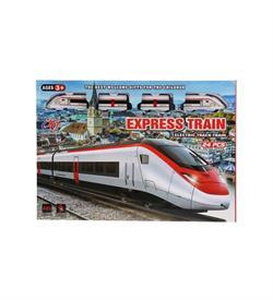 Sesli ve Işıklı Klasik Tren Seti 25 Parça