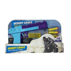 Sünger ve Boncuk Fırlatan Oyuncak  Renklli Silah