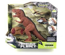 Uzaktan Kumandalı Işıklı Sesli Yürüyen Trex Dinozor Oyuncak