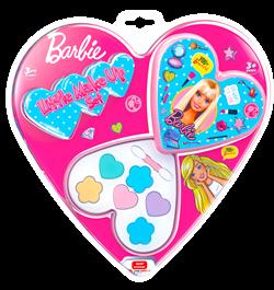 Barbie Lisanslı Sürülebilir Makyaj Seti (Kalpli)