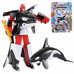 Robota Dönüşen Orca Balina Oyuncak