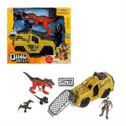 Sesli ve Işıklı Dino Valley Dinozor Avcısı Oyun Seti