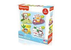 FP 13403 FİSHER-PRİCE Baby Puzzle Seasons-KS