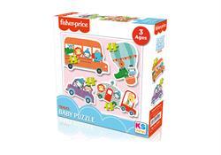 FP 13404 FİSHER-PRİCE Baby Puzzle Travel-KS