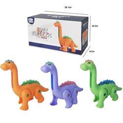 Pilli Sesli Yürüyen Sevimli Dinozor Oyuncak